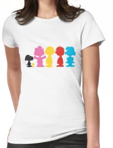 Peanuts Womens Fitted T-Shirt
