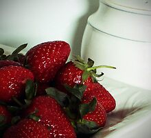 STRAWBERRIES and CREAM by OlaG