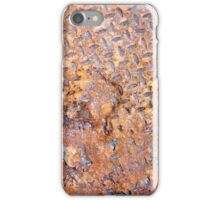 Rusted Metal Floor Plate - iPhone Case iPhone Case/Skin