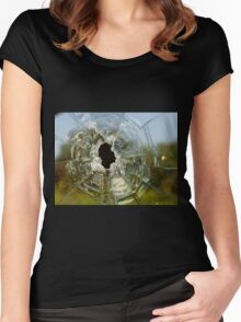 Bullet Hole Women's Fitted Scoop T-Shirt
