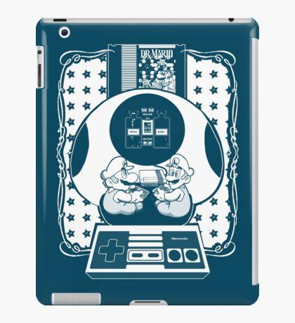 DR MARIO - Super Mario  iPad Case/Skin