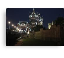 Olympic Tower Bridge Canvas Print