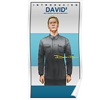 Michael Fassbender as David 8 Poster