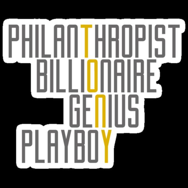Genius Billionaire Playboy Philanthropist [Dark/Yellow] by EdwardDunning