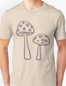 Purple Haze Dotted Toadstool T-Shirt