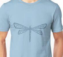 Stream Blue Dragonfly  Unisex T-Shirt
