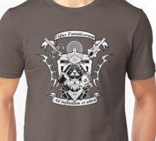 NerdCrest  -  Black and White Unisex T-Shirt