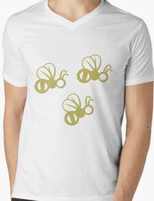 Tres Amigos Bees Mens V-Neck T-Shirt