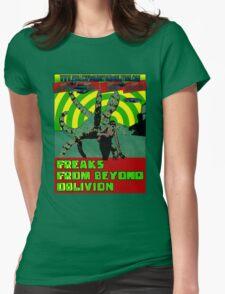 Freaks From Beyond Oblivion Alien  Womens Fitted T-Shirt