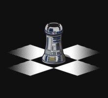 Chess R2-D2: Rook to D2 Kids Tee