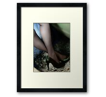 THE GREEN TOUCH Framed Print