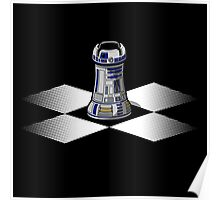 Chess R2-D2: Rook to D2 Poster