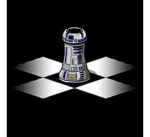 Chess R2-D2: Rook to D2 Photographic Print