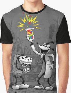 Invention of Colour Graphic T-Shirt