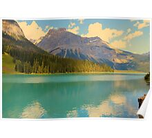 Emerald Lake, Yoho National Park Poster