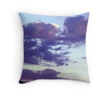 evening sunset-aug.2012 Throw Pillow