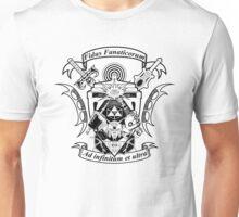 NerdCrest  -  Black Unisex T-Shirt