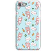 Adorable Kawaii Bunny Pattern iPhone Case iPhone Case/Skin