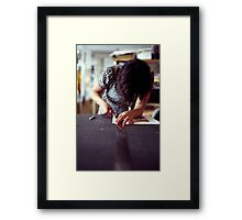 Designer Portrait Framed Print