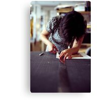 Designer Portrait Canvas Print