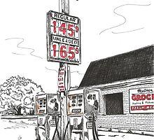 GAS PUMPS by bulldawgdude