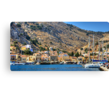 End of the Harbour Canvas Print