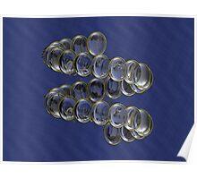 Spiraled Lenses I Poster