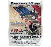 Emprunt 4 918 lEmprunt de la Défense Nationale Poster