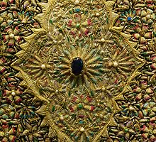 Oriental Embroidery Detail  by Trish Meyer