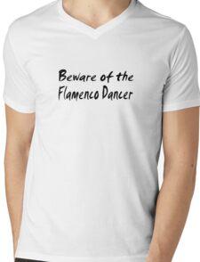 Flamenco Mens V-Neck T-Shirt