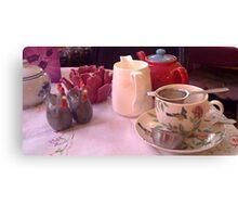 Alice in Wonderland Tea Room Canvas Print
