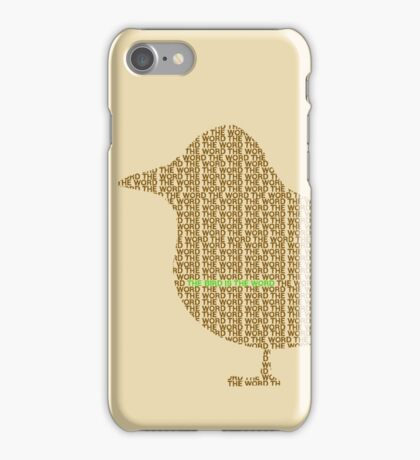 Bird is the Word iPhone Case/Skin