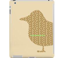 Bird is the Word iPad Case/Skin
