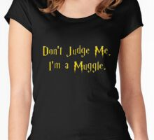 Muggle Judge Women's Fitted Scoop T-Shirt