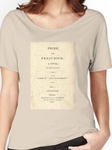 PRIDE and PREJUDICE Novel Cover Women's Relaxed Fit T-Shirt
