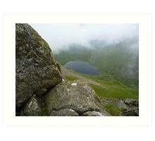 Grisedale Tarn - Lake District, Cumbria Art Print
