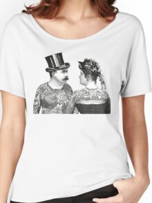 Tattooed Victorian Lovers Women's Relaxed Fit T-Shirt