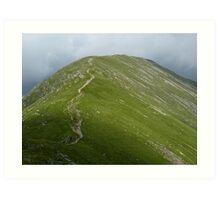 Saint Sunday Crag - Lake District, Cumbria Art Print