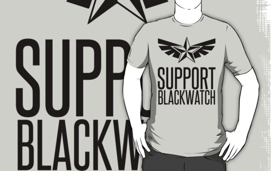 Support Blackwatch by Adam Grey