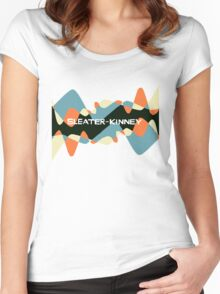 sleater-kinney Women's Fitted Scoop T-Shirt