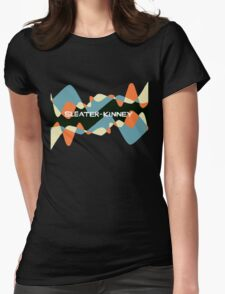 sleater-kinney Womens Fitted T-Shirt