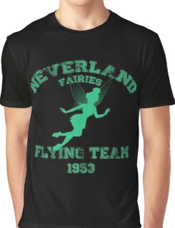 Tinkerbell - Flying Team of Neverland Graphic T-Shirt