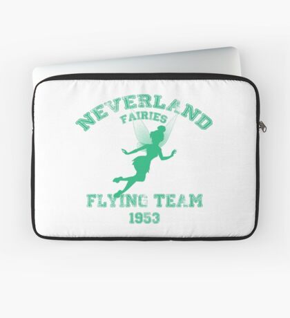 Tinkerbell - Flying Team of Neverland Laptop Sleeve