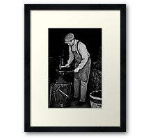 Blacksmith Framed Print