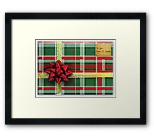 A Gift to You Framed Print