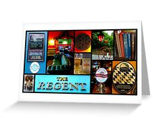 The Regent ~ Edinburgh Greeting Card