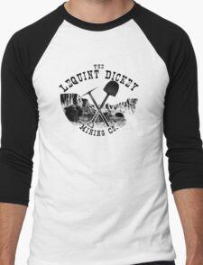 The LeQuint Dickey Mining Co. Men's Baseball ¾ T-Shirt