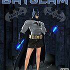 BATGLAM - THE CAPED CRUISADER! by skipnotic