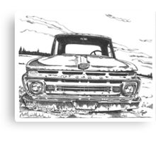 FORD truck in GA Canvas Print