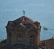 Ohrid, Sv. Jovan at Kaneo by distracted